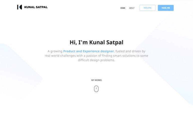 Kunal Satpal Portfolio