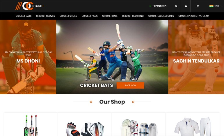 Online Cric Store
