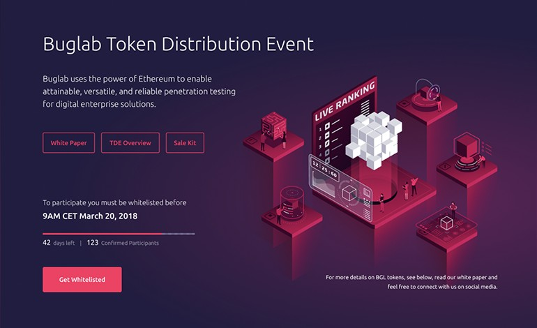 Buglab Token Distribution Event