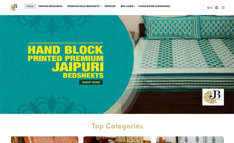 Jaipur Bedsheet