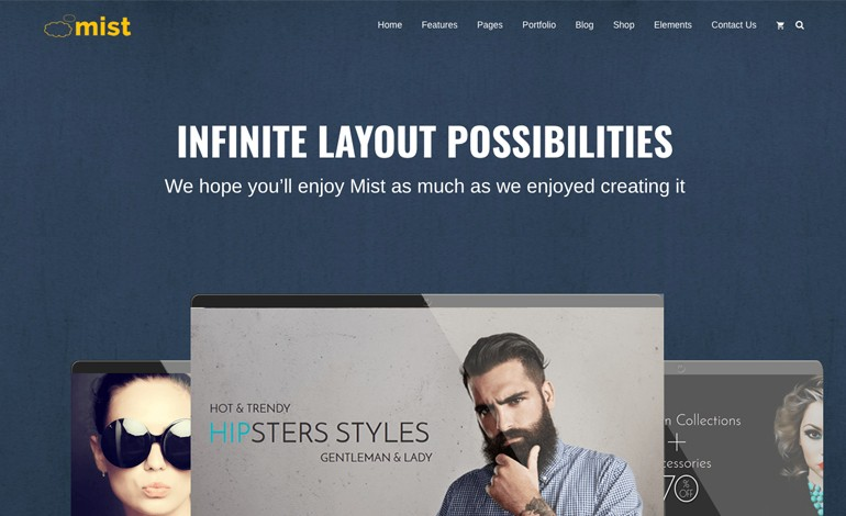 Mist Advanced MultiConcept wordpress Theme
