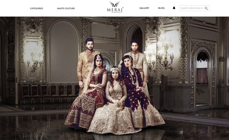 Meraj Wedding Dress Designers