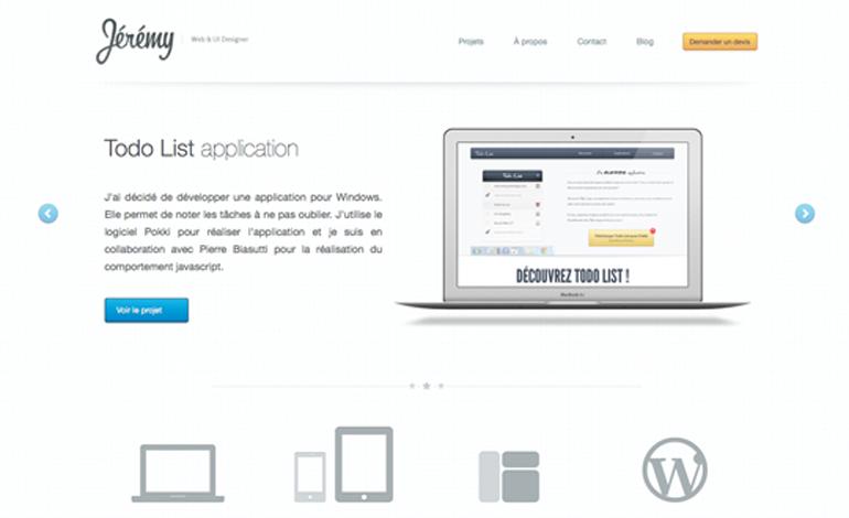 Jérémy Barbet › Web & UI Designer