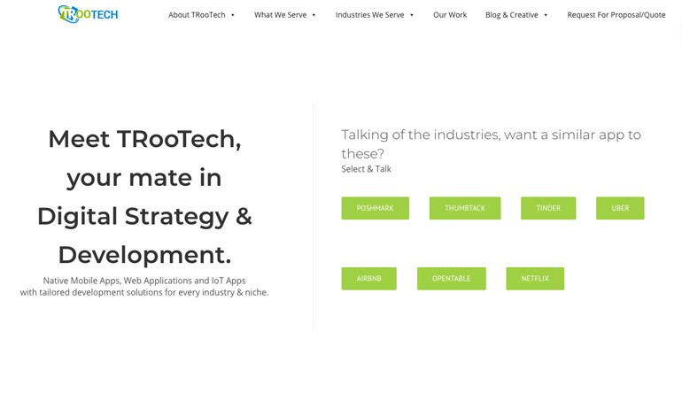 TRooTech Business Solution