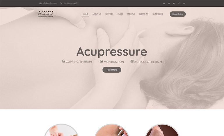 Accu Alternative Medicine Theme