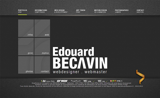 BECAVIN Edouard Portfolio