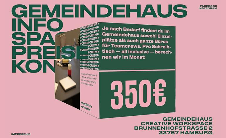 Gemeindehaus Creative Workspace