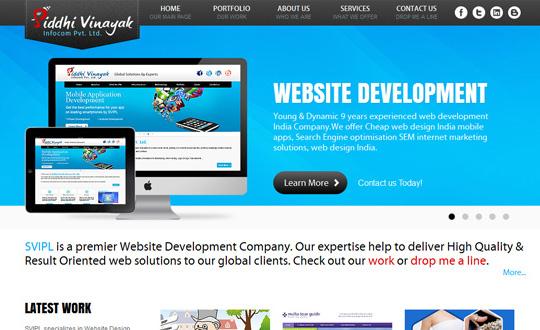 Cheap HTML5 Website Design India iPhone Apps WordPress Websites