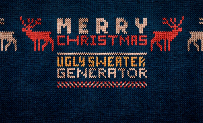 Ugly Christmas sweater generator
