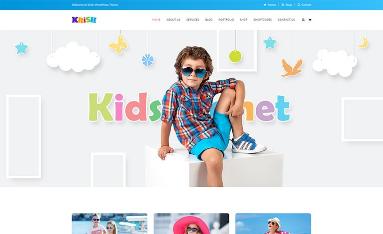 Krish School WordPress Theme