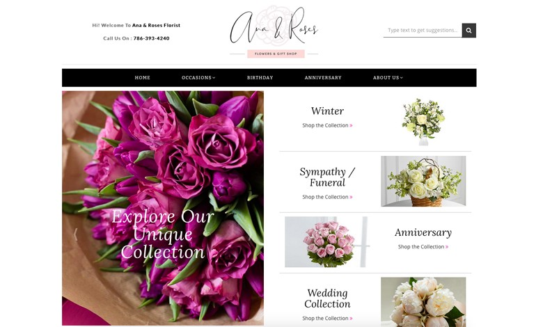 Ana and Roses Florist