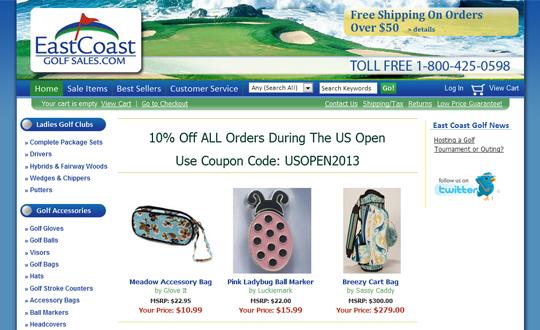 East Coast Golf Sales