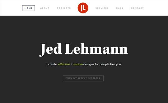 Jed Lehmann, graphic designer