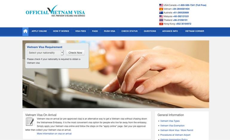 Official Vietnam Visa
