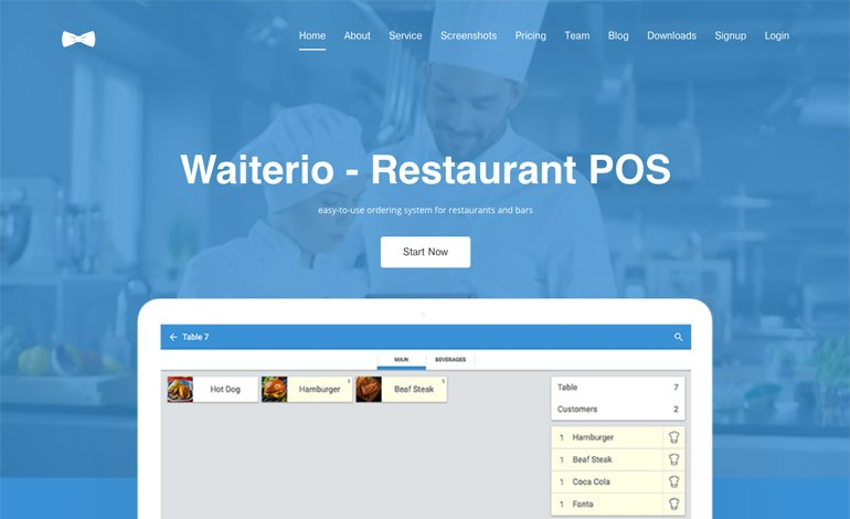 Waiterio Restaurant POS