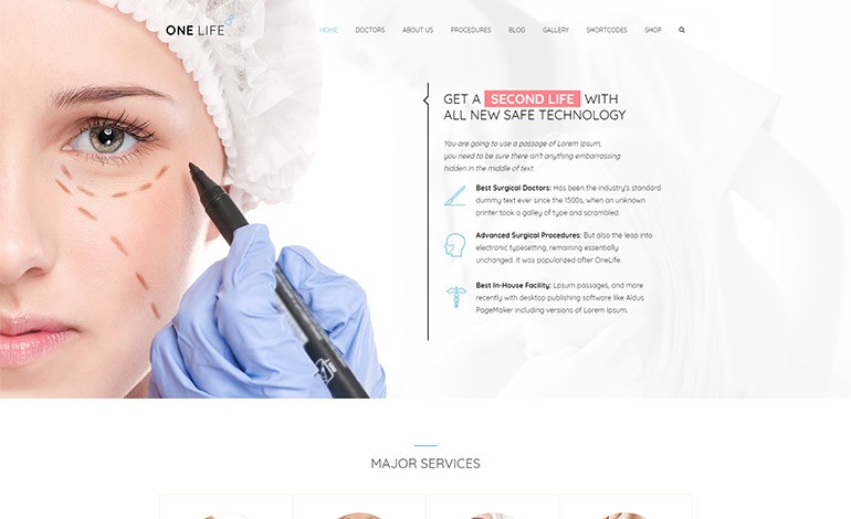 OneLife Medical WordPressTheme