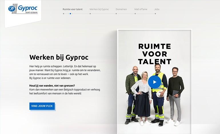 Gyproc Career Site Belgium