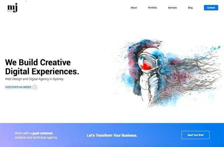 MJWebs Web Design Sydney