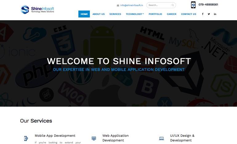 Shine infosoft