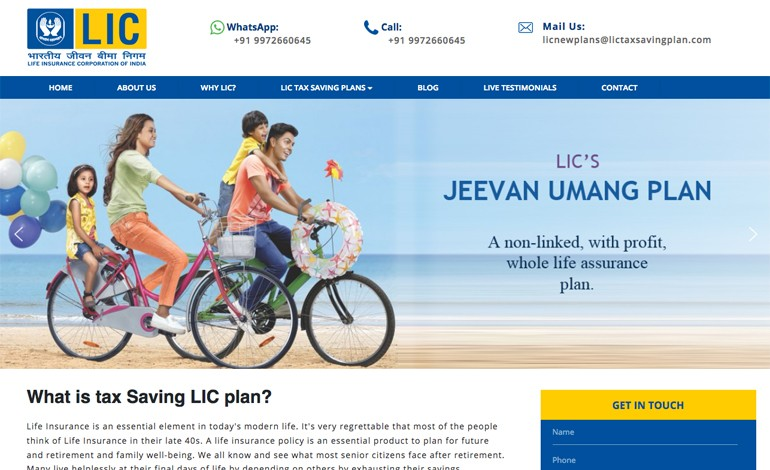 LIC Tax saving plan