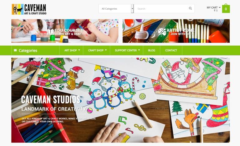 Caveman Art Craft Studio