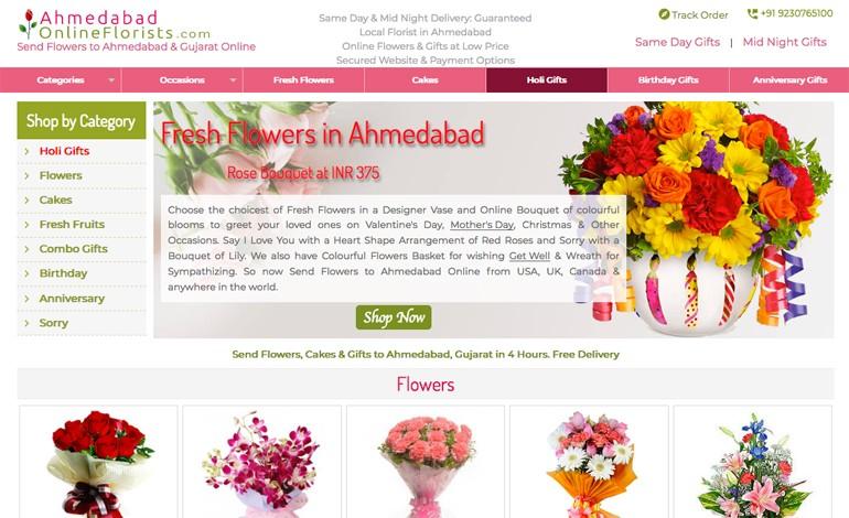 Ahmedabad Online Florists