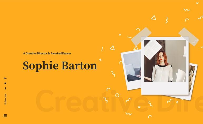 Sopphie Creative Responsive Personal WordPress Theme