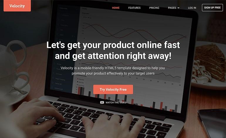 Velocity Bootstrap 4 Theme