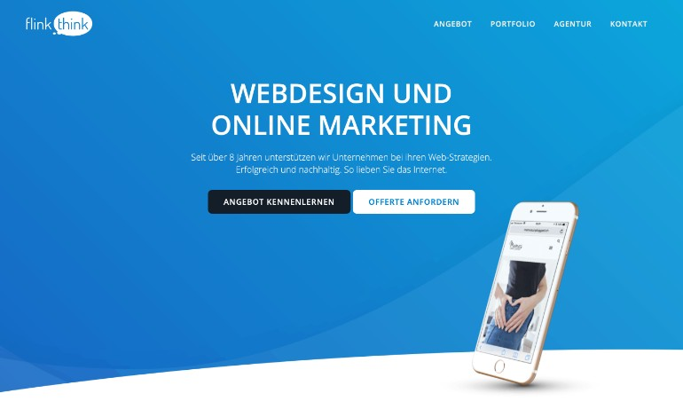 Webdesign und Online Marketing mit WordPress