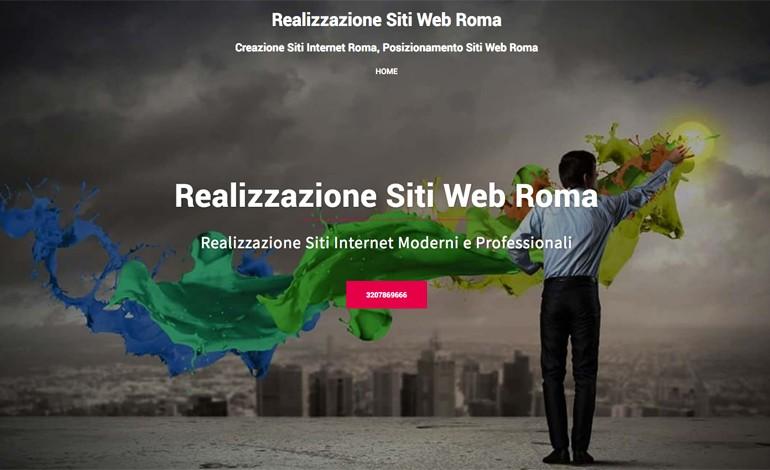 Realizzazioni Siti Web Roma