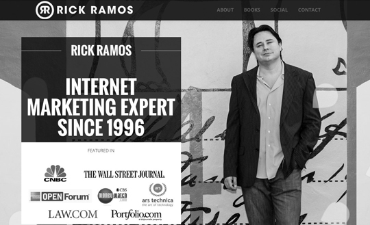Author & Internet Marketing Expert - Rick Ramos