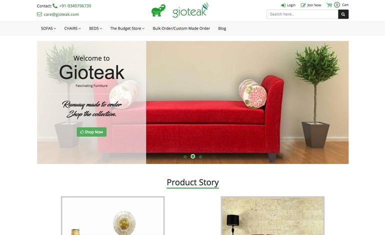 Gioteak Furniture