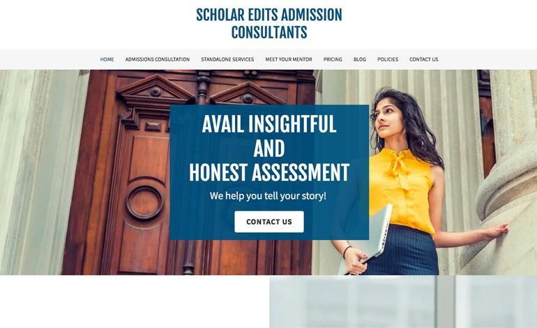 Scholar Edits Admission Consultants