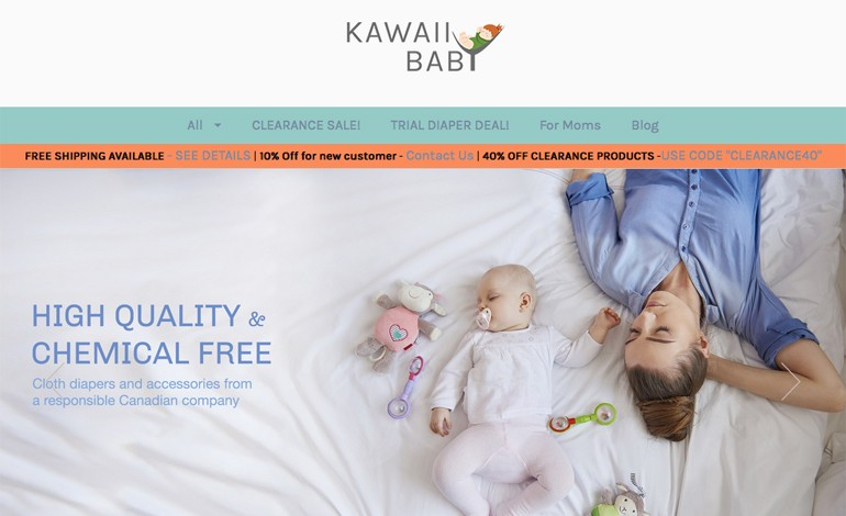 KaWaii Baby Diaper