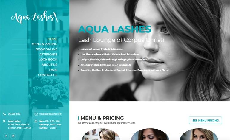 Aqua Lashes Eyelash Extension