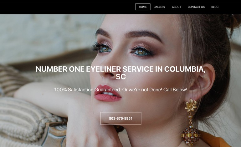 Eyeliner Tattoo Columbia