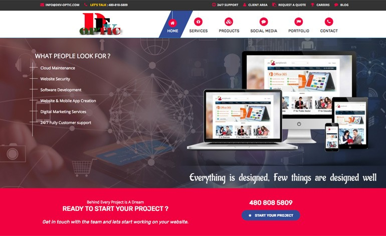 DevOptic Web Design and Web Development