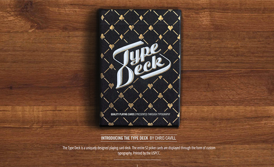 The Type Deck