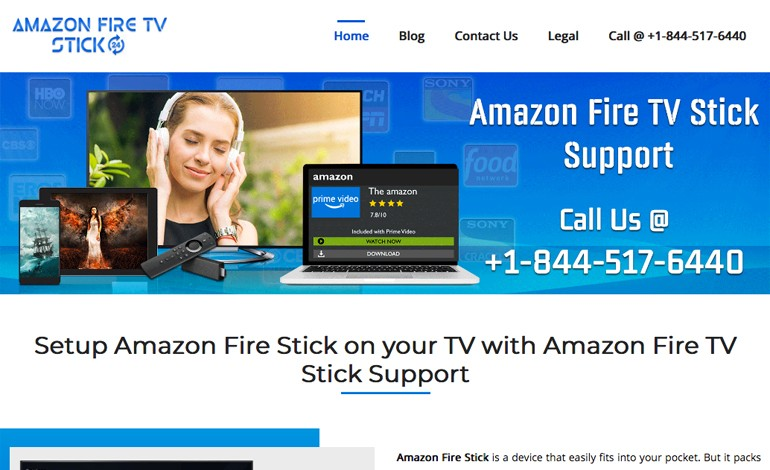 Amazon Fire TV Stick Support