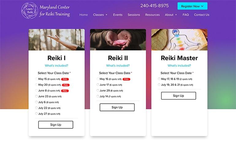 Maryland Center for Reiki Training
