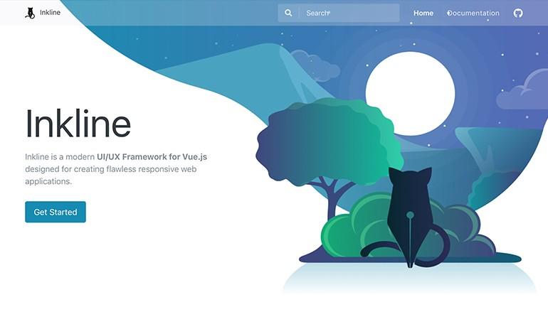 Inkline Vuejs UI UX Framework