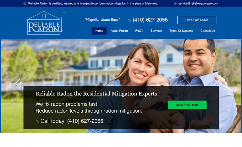 Reliable Radon Pro