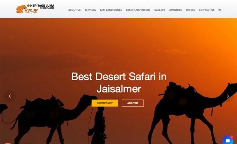 Hritage Juma Desert Camp