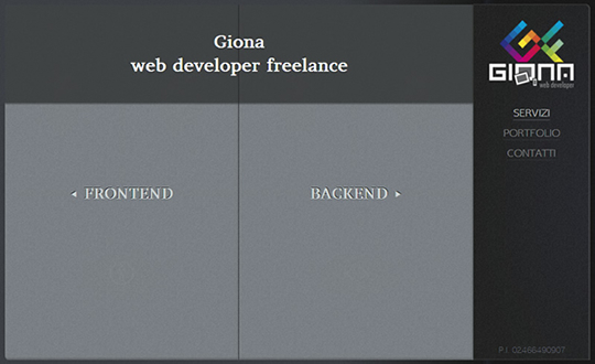 Giona italian web designer