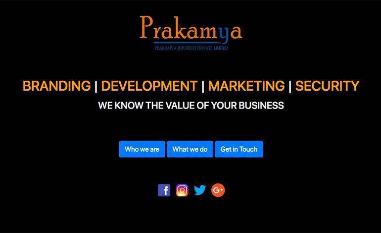 PrakamyaInfotech