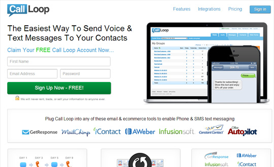 Call Loop Text Marketing
