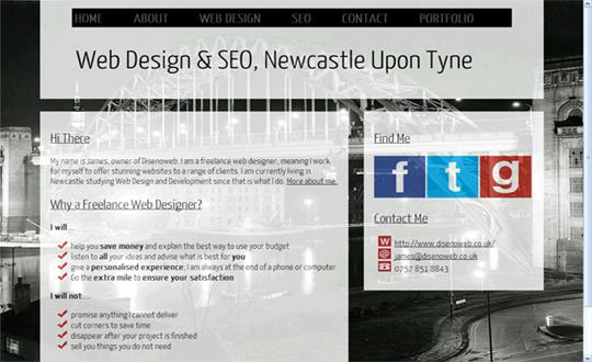 Disenoweb Web Design Newcastle & SEO Newcastle