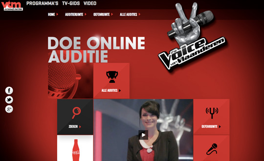 The Voice Online Audition