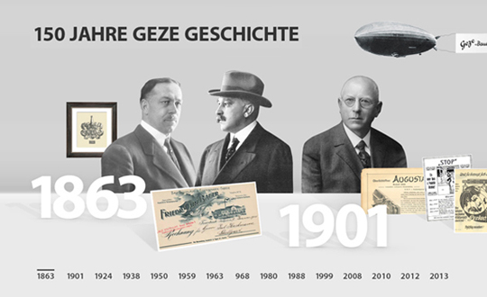GEZE 150th Anniversary