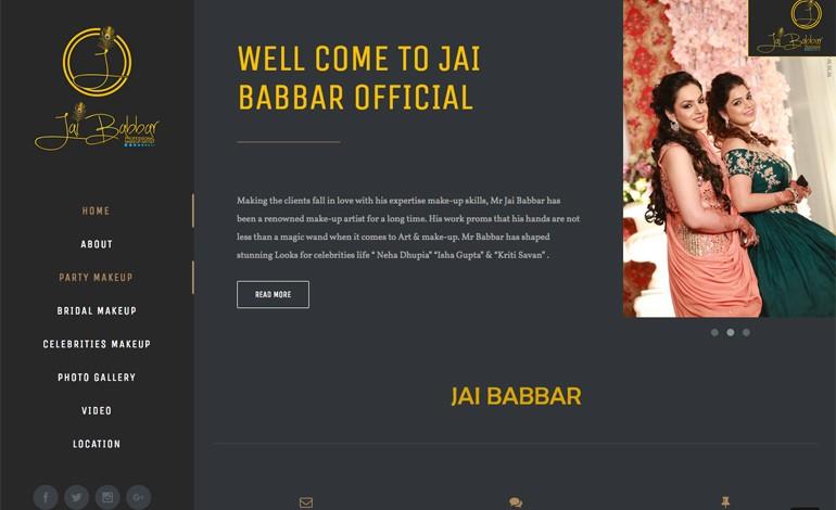 Jai Babbar Makeup Artistic
